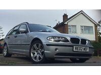 BMW E46, 3 series, 1.8 auto, estate, touring