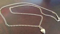 LADIES SOLID GOLD & SILVER NECKLACES AND BRACELETS !