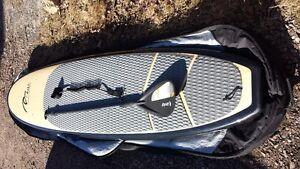 paddle board 11' Mauï bambou, sac transport, pagaie et attache