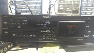 Denon DN-T620 Professional CD and Cassette Combo Deck Cambridge Kitchener Area image 1