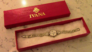 Ivana Watch - Rhinestone Studded - Battery Kitchener / Waterloo Kitchener Area image 1
