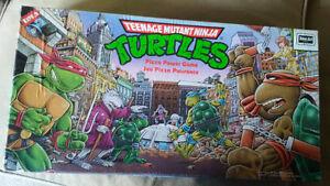 Teenage Mutant Ninja Turtles Pizza Power Board Game - 1987 Kitchener / Waterloo Kitchener Area image 1