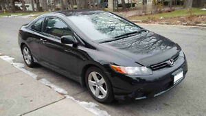 2007 HONDA CIVIC EX COUPE **LOW KMS AND QUICK SALE!!**
