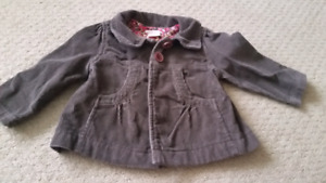 Lot 6-12 month shorts, 12-18 month outerwear