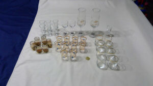 large lot of vintage barware (sets) great for the home bar!