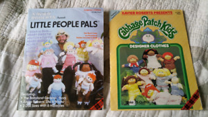Vintage Cabbage Patch books/ magazines with patterns