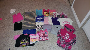 Girls size 7/8 + 10/12 clothing