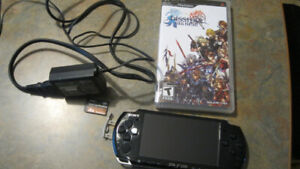 Sony PSP 3006 System w/ Charger/8GB Memory card/Dissidia Final F