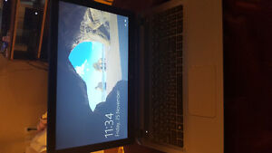 """15"""" blue HP touchscreen laptop. In excellent condition. Prince George British Columbia image 1"""