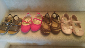 Size 5 girl's toddler shoes