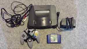 Nintendo 64 and Bassmasters 2000 for sale!