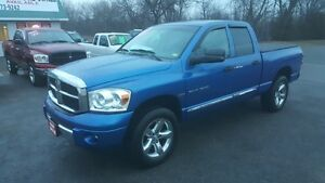 2008 DODGE RAM 1500 LARAMIE *** FULLY LOADED 4X4 *** CERTIFIED
