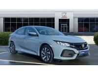 2017 Honda Civic 1.0 VTEC Turbo SE 5dr CVT Petrol Hatchback Auto Hatchback Petro