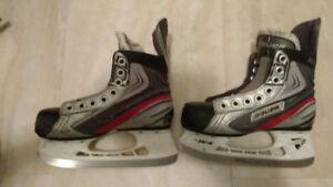 Size 11J & size 13D hockey skates