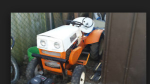 1971 lawn tractor bought I still have a lot of parts