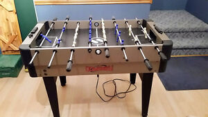 Foosball, Air Hockey, 10-in-1 Games table...MINT...$150 obo