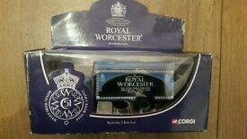 Corgi Royal Worcester Bedford S Box Van