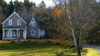 Large property and house near Rothesay Common