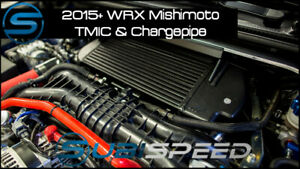 Mishimoto TMIC & Charge Pipe Kit for WRX & Forester XT