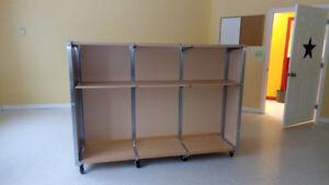 Large Office double sided shelf
