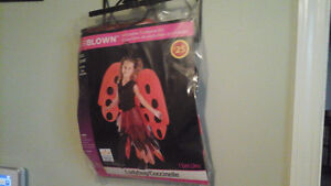 Inflatable WIngs lady bug costume