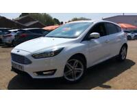 2017 Ford Focus 1.0 EcoBoost 125 Titanium (Nav Manual Petrol Hatchback