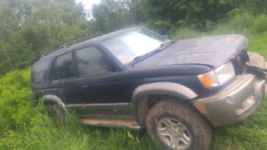 1999 4runner for part out or will sell whole thing