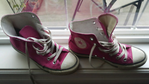 Women's converse all star pink size 8