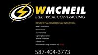 Electrician - Residential & Commercial Services. Insured.