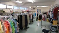 USED CLOTHING HALF PRICE SALE - NEARLY NEW SHOP