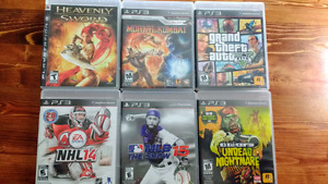 PS3 games (5$ each)
