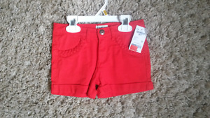 Canada Day T-shirts and Red Shorts