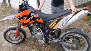 RARE 2006 KTM supermoto 625cc lc4