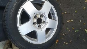 VW snowtires 195/55/15 $300  for all 4