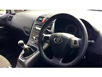 2010 Toyota Auris 1.6 V-Matic SR 5dr Manual Petrol Hatchback