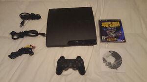 Used Playstation 3 Slim Console 320GB (Model CECH-3001B) System