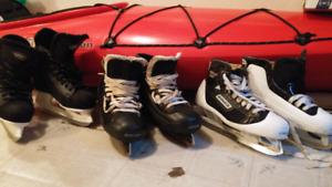 Skates each pair 25$