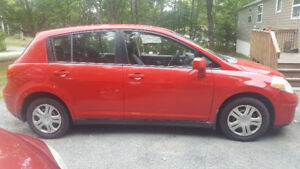 2008 Nissan Versa with a brand new mvi