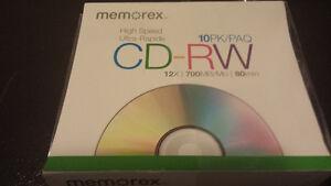 CD-RW High Speed 12x700MB 80 Min