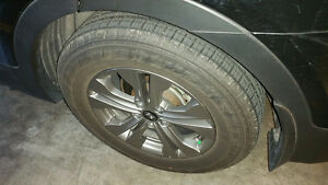 Like New set of 4 Kumho Solus  used for 16K  km