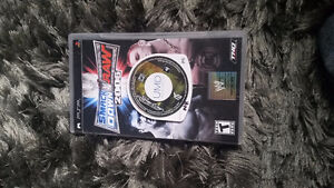 Wwe smackdown vs raw and need for speed  most wanted for PSP
