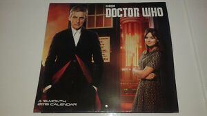 Doctor Who 2016 Calender