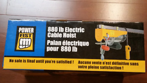 Electric Cable Hoist 880 lbs