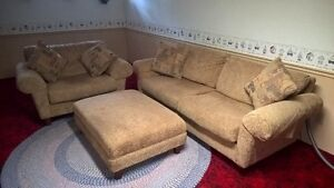 couch, chair, ottoman set