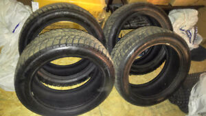 Studded Winter Tires P235/50 R18