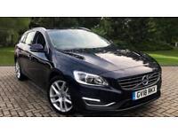 2018 Volvo V60 D4 SE Lux Nav Automatic Rear Automatic Diesel Estate
