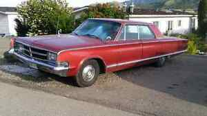 Must go!  Collector plated 1965 chrysler 300