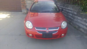 2005 DODGE NEON EVERY LOW KMS. 105,0000KMS