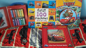 lighting mcqueen and first 100 machines books