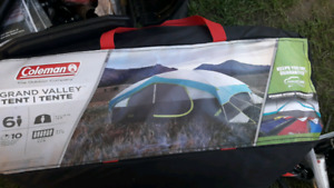 Coleman Grand Valley 6 man tent brand new